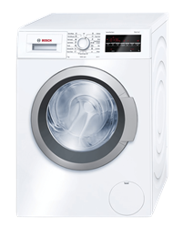 BOSCH FRONT <BR /> LOADER WASHING MACHINE (WHITE) <BR />MODEL: WAT24440ZA