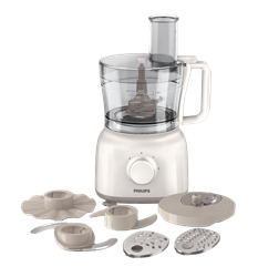 PHILIPS <BR /> FOOD PROCESSOR (WHITE) <BR />MODEL: HR7627/00