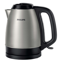 PHILIPS  KETLLE <BR />(BRUSHED METAL) <BR />MODEL: HD9305/23