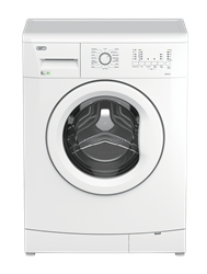 DEFY FRONT LOADER WASHING MACHINE (WHITE) MODEL: DAW373