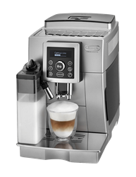 DELONGHI COFFEE <BR /> MACHINE (SILVER) <BR />MODEL: ECAM23.460