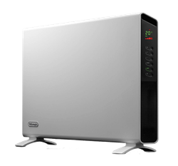 DELONGHI CONVECTOR SLIM STYLE PORTABLE HEATER (WHITE) MODEL: HCX9120E