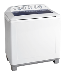DEFY TWIN <BR />TUB WASHING MACHINE (WHITE) <BR /> MODEL: DTT164