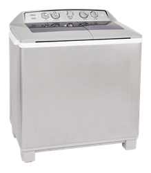 DEFY TWIN <BR />TUB WASHING MACHINE (METALLIC) <BR /> MODEL: DTT165
