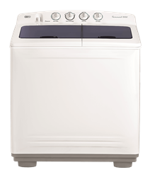 DEFY TWIN <BR />TUB WASHING MACHINE (METALLIC) <BR />MODEL: DTT172