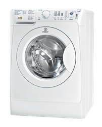 INDESIT FRONT <BR />LOADER WASHING MACHINE (WHITE) <BR />MODEL: PWDC8127W