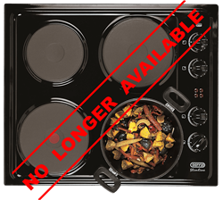 DEFY SOLID PLATE HOB DHD330