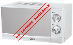 DEFY MANUAL MICROWAVE OVEN (METALLIC) MODEL: DMO349