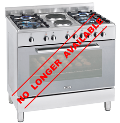 DEFY GAS ELECTRIC STOVE (S/STEEL) MODEL: DGS156