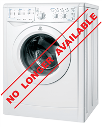 INDESIT FRONT LOADER WASHING MACHINE (WHITE) MODEL: IWC71051