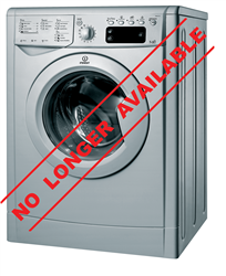 INDESIT FRONT LOADER WASHING MACHINE (SILVER) MODEL: IWDE7125S