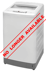 DEFY TOP LOADER WASHING MACHINE (WHITE) MODEL: WTL13019W
