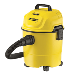 KARCHER  VACUUM <BR /> CLEANER (YELLOW) <BR />MODEL: MV1