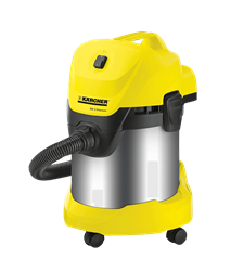 KARCHER VACUUM CLEANER (YELLOW) MODEL: WD3 PREMIUM