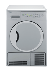 DEFY <BR />CONDENSER TUMBLE DRYER (METALLIC) <BR /> MODEL: DTD313