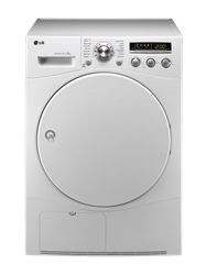 LG <BR />CONDENSER TUMBLE DRYER (WHITE) <BR /> MODEL: RC8043A1Z