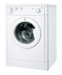 INDESIT <BR />AIR VENTED TUMBLE DRYER (WHITE) <BR /> MODEL: IDV75