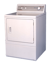 SPEED QUEEN <BR />AIR VENTED TUMBLE DRYER (WHITE) <BR /> MODEL: LES33AW
