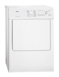 AEG <BR />AIR VENTED TUMBLE DRYER (WHITE) <BR /> MODEL: T65170AV