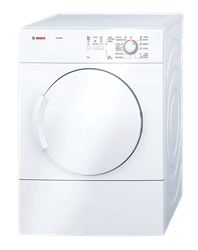 BOSCH <BR />AIR VENTED TUMBLE DRYER (WHITE) <BR /> MODEL: WTA74101ZA