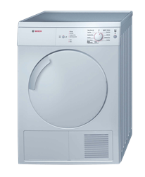 BOSCH <BR />AIR VENTED TUMBLE DRYER (SILVER) <BR /> MODEL: WTV7410SZA