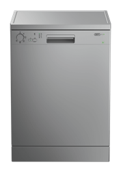 DEFY <BR />DISHWASHER (METALLIC) <BR />MODEL: DDW176