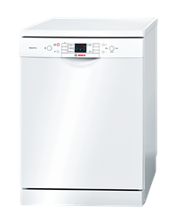 BOSCH <BR />DISHWASHER (WHITE) <BR /> MODEL: SMS58N82ZA