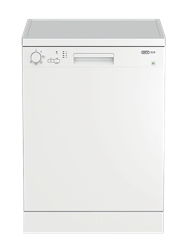 DEFY <BR />DISHWASHER (WHITE) <BR /> MODEL: DDW175