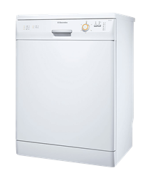 ELECTROLUX DISHWASHER (WHITE) MODEL: ESF63012W