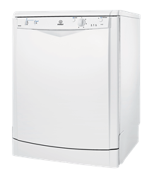 INDESIT <BR />DISHWASHER (WHITE) <BR />MODEL: DFG051