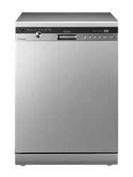 LG <BR />DISHWASHER (SILVER) <BR />MODEL: D1444LF