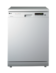 LG <BR />DISHWASHER (WHITE) <BR />MODEL: D1452WF