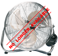 AEG FLOOR FAN MODEL: CH16Z