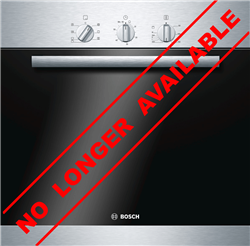 BOSCH BUILT IN <BR /> OVEN (S/STEEL) <BR />MODEL:  HBA21B150E