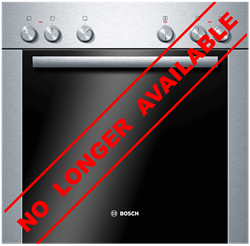 BOSCH BUILT IN <BR /> OVEN (S/STEEL) <BR />MODEL: HEA10B251
