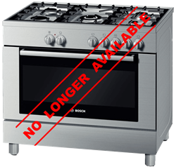 BOSCH <BR /> GAS ELECTRIC <BR /> STOVE (S/STEEL) <BR />MODEL: HSB775055Z