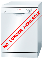 BOSCH <BR />DISHWASHER (WHITE) <BR /> MODEL: SMS40E02ZA