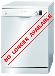 BOSCH <BR />DISHWASHER (WHITE) <BR /> MODEL: SMS50E02ZA