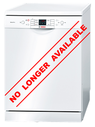 BOSCH <BR />DISHWASHER (WHITE) <BR /> MODEL: SMS58N82EU