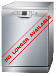 BOSCH <BR />DISHWASHER (S/INOX) <BR /> MODEL: SMS58N88EU