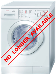 BOSCH FRONT LOADER WASHING MACHINE (WHITE) <BR />MODEL: WAE20165ME