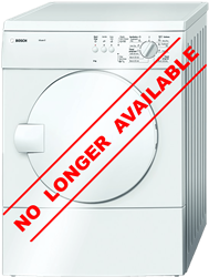 BOSCH <BR />AIR VENTED TUMBLE DRYER (WHITE) <BR /> MODEL: WTA74100ZA