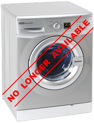 DEFY FRONT LOADER WASHING MACHINE (METALLIC) MODEL: DAW325