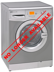 DEFY FRONT LOADER WASHING MACHINE (METALLIC) MODEL: DAW326