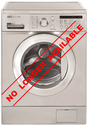 DEFY FRONT <BR />LOADER WASHING MACHINE (METALLIC) MODEL: DAW327