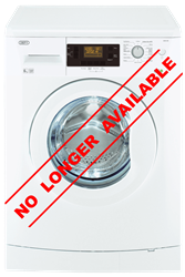 DEFY FRONT LOADER WASHING MACHINE (WHITE) MODEL: DAW369