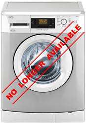 DEFY FRONT LOADER WASHING MACHINE (METALLIC)MODEL: DAW370