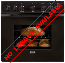 DEFY BUILT IN <BR /> OVEN (BLACK) <BR />MODEL: DBO451