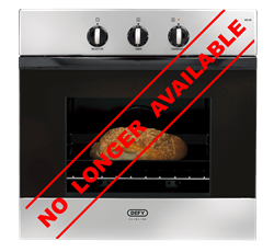 DEFY BUILT IN <BR /> OVEN (S/STEEL) <BR />MODEL: DBO452