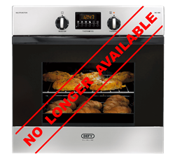 DEFY BUILT IN <BR /> OVEN (S/STEEL) <BR />MODEL: DBO455